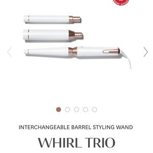 T3 MICRO! INTERCHANGEABLE BARREL STYLING wand!